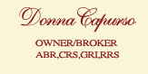 Donna Capurso Real Estate Broker